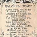 Pal Of My Heart by K S Rankin
