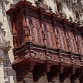 Palace Balcony by Bob Phillips