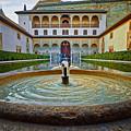 Palace Courtyard Alhambra by Adam Rainoff