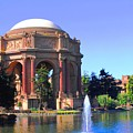 Palace Of Fine Arts by Natalie Ortiz