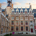 Palace Of Gruuthuse In Brugge by Anastasy Yarmolovich