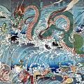 Palace Of The Dragon King by Utagawa Kuniyoshi
