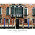 Palace On The Grand Canal by Julian Perry