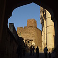 Palace Through Arch by Sujith Gopinath