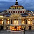 Palacio De Bellas Artes Mexico by Rafael Salazar