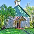 Palapala Ho'omau Congregational Church by Jim Thompson
