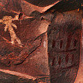 Palatki Pictographs8 Pnt by Theo O'Connor