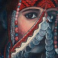 Palestinian Woman by Sylvia Stone