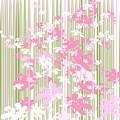 Palm Beach Floral II by Pamela Johnson Design