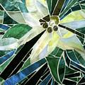 Palm Flower Mosaic by Kelly Darrah