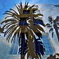 Palm Mural by Gwyn Newcombe