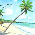 Palm Over Diani Beach by Katie Sasser