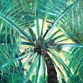Palm Tree by Gina De Gorna