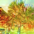 Palm Tree Portrait by Alice Gipson