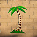 Palm Tree Sign by Rich Iwasaki