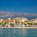 Palm Waterfront Of Split City by Brch Photography