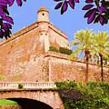 Palma De Majorca Old City Walls by Mallorca Colors