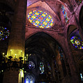Palma De Mallorca Cathedral - Colours Of Faith 3 by Andrea Mazzocchetti