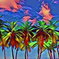 Palms 2 by Linda Todd