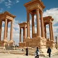 Palmyra-tetrapylon by PJ Boylan