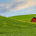 Palouse Barn by John Willy