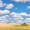 Palouse Barn by Sharon Seaward