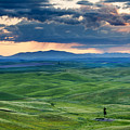 Palouse Storm by Mike  Dawson