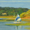 Pamet Harbor Early Evening by Phyllis Tarlow