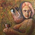 Pan And  Ariadne by Mushtaq Bhat
