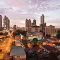 Panama City At Night by Heiko Koehrer-Wagner