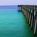 Panama City Beach Pier by Toni Hopper