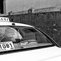 Panama City Taxi Mono by John Rizzuto