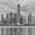 Panama Skyline by Ana V Ramirez