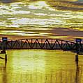Panaroma Katy Bridge by Janice Poole