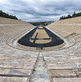 Panathenaic Stadium In Athens, Greece by Ivan Batinic