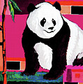 Panda Abstrack Color Vision  by Alban Dizdari