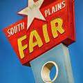 Panhandle South Plains Fair Sign by Stephen Stookey