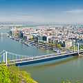 Panorama Budapest Hungary by Matthias Hauser
