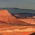 Panorama Dawn Light On The San Rafael Swell Utah by Dave Welling