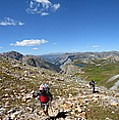 Panorama Looking Down Elk Creek From The Continental Divide - Weminuche Wilderness by Bruce Lemons