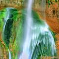 Panorama Lower Calf Creek Falls Escalante Nm Utah by Dave Welling