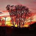 Panorama    Mid Winter Sunset In The City       Indiana by Rory Cubel