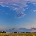Panorama Of A Colorful Sunset by Alan Dyer