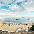 Panorama Of Copacabana, Rio De Janeiro, Brazil  by Alexandre Rotenberg