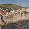 Panorama Of Dubrovnik, Croatia, In The Afternoon by Rob Greebon