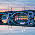 Panorama Of Pont Neuf In Toulouse by Elena Elisseeva