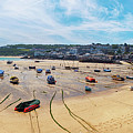 panorama of St.Ives beach, Cornwall  by Ariadna De Raadt