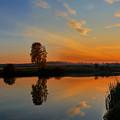 Panorama Of Sunset by Yuri Hope