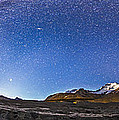 Panorama Of The Columbia Icefields by Alan Dyer