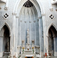 Panorama Of The Main Altar Of St. John The Evangalist Roman Catholic Church Schenectady by Thomas Marchessault